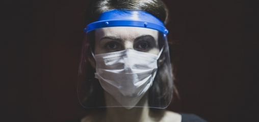 What is the efficacy of eye protection equipment compared to no eye protection equipment in preventing transmission of COVID-19-type respiratory illnesses in primary and community care?