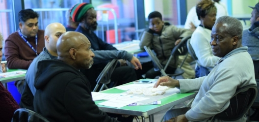 African Caribbean men help to spread prostate cancer message