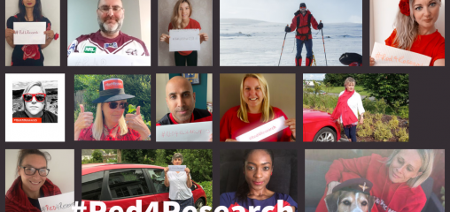Supporting #Red4Researchday