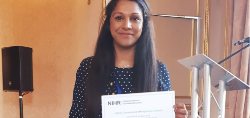 Yogini wins another award as CLAHRC EM researchers enjoy more success