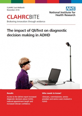 The impact of QbTest on diagnostic decision making in ADHD