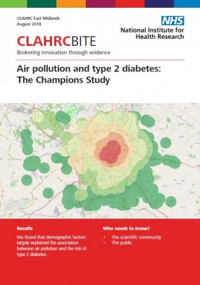 Air pollution and type 2 diabetes: The CHAMPIONS Study