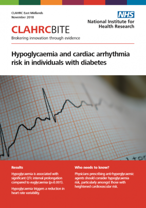 Hypoglycaemia and cardiac arrhythmia risk in individuals with diabetes
