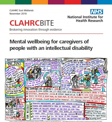 Mental wellbeing for caregivers of people with an intellectual disability