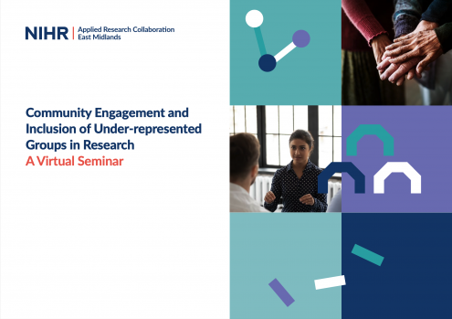 Community Engagement and Inclusion of Under-represented Groups in Research: A Virtual Seminar