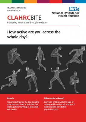 How active are you across the whole day?