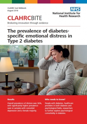 The prevalence of diabetes-specific emotional distress in Type 2 diabetes